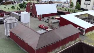 1/64 Iowa Model Farm and Cattle Feeding Operation
