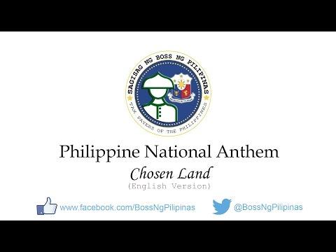 Chosen Land (English Version) - Philippine National Anthem