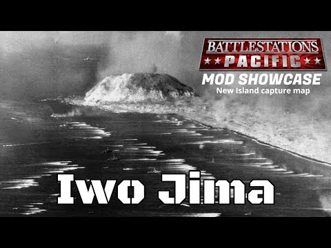 Battlestations Pacific(PC) new Island capture map - Iwo Jima(mod)