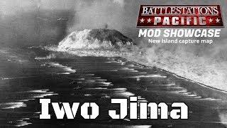 Battlestations Pacific(PC) new Island capture map - Iwo Jima(mod)