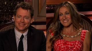 Sarah Jessica Parker & Greg Kinnear's I Don't Know How She Does It Drinking Game!