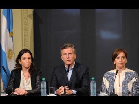 (video) FIN DE AÑO: MACRI ANUNCIÓ 400 PESOS PARA LA AUH Y NEGÓ EL BONO A LOS ESTATALES
