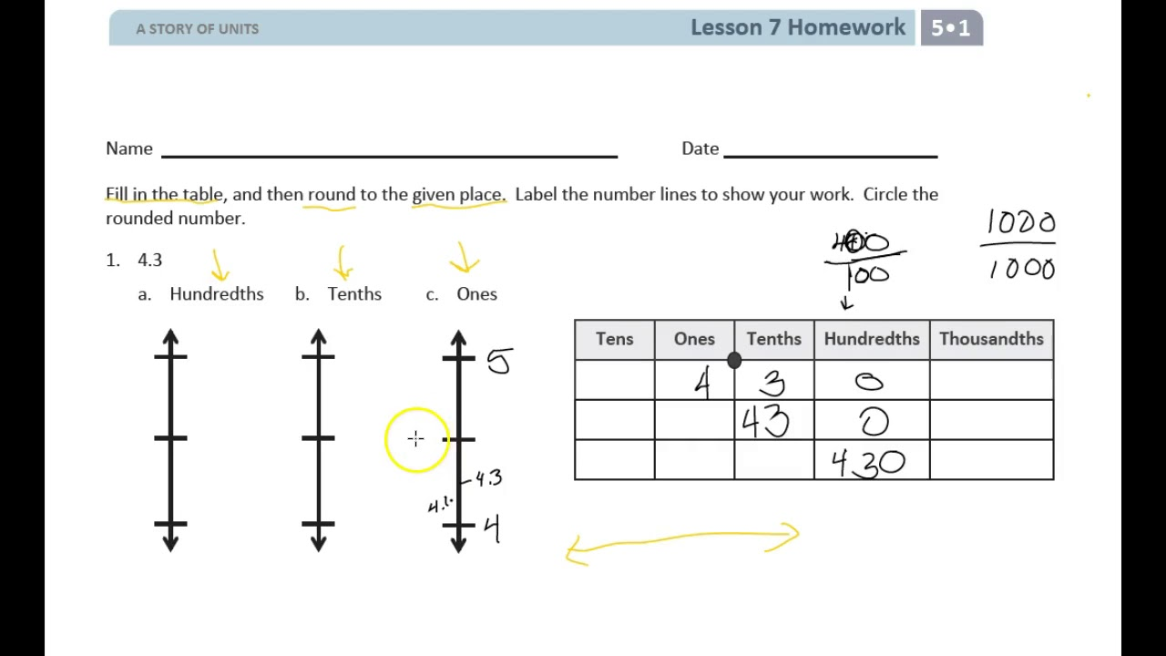 eureka math lesson 7 homework 5.1