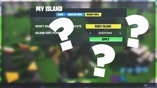 HOW TO FIX ISLAND EDIT PERMISSION GLITCH! - Fortnite Creative Mode