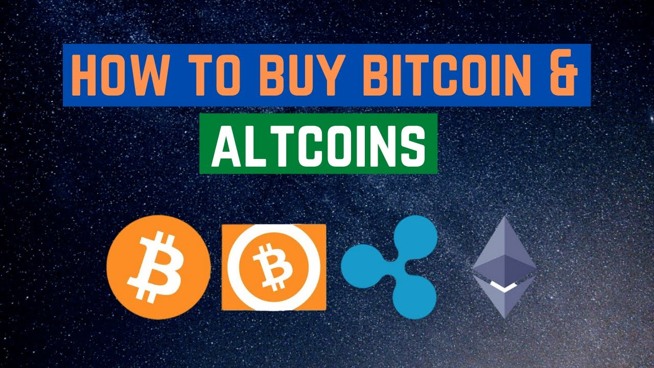 different ways to buy bitcoin