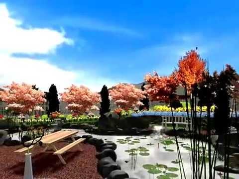 видео: Ландшафтный дизайн своими руками
