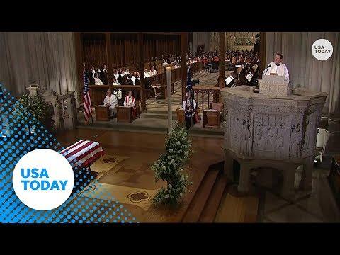 George H.W. Bush funeral: Rev. Dr. Russell Levenson Jr.s full homily