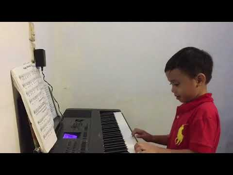 Piano cover Indonesia nursery song