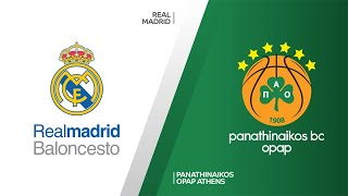 Real Madrid - Panathinaikos OPAP Athens Highlights | Turkish Airlines EuroLeague, RS Round 22