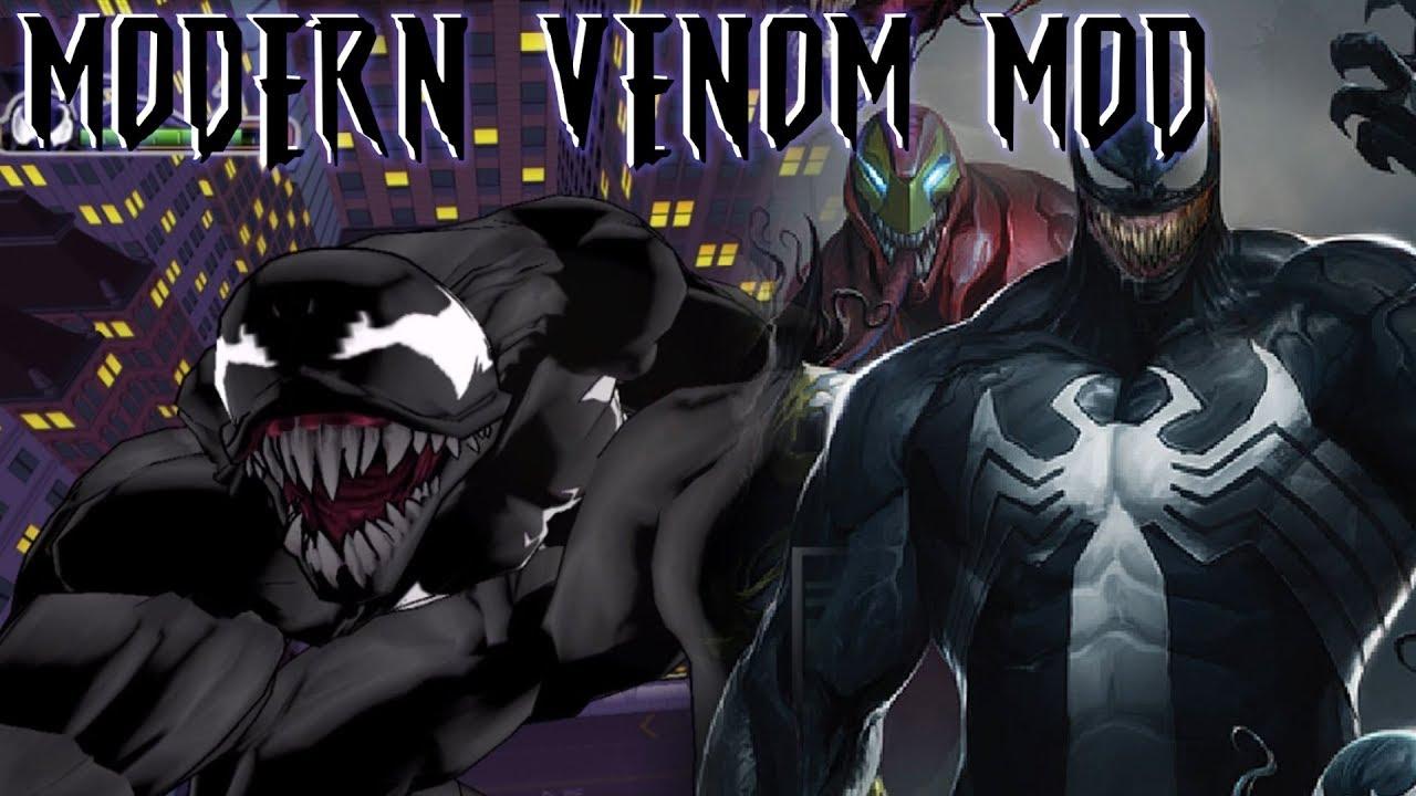ultimate spider-man modern venom suit mod (pc gameplay) - youtube