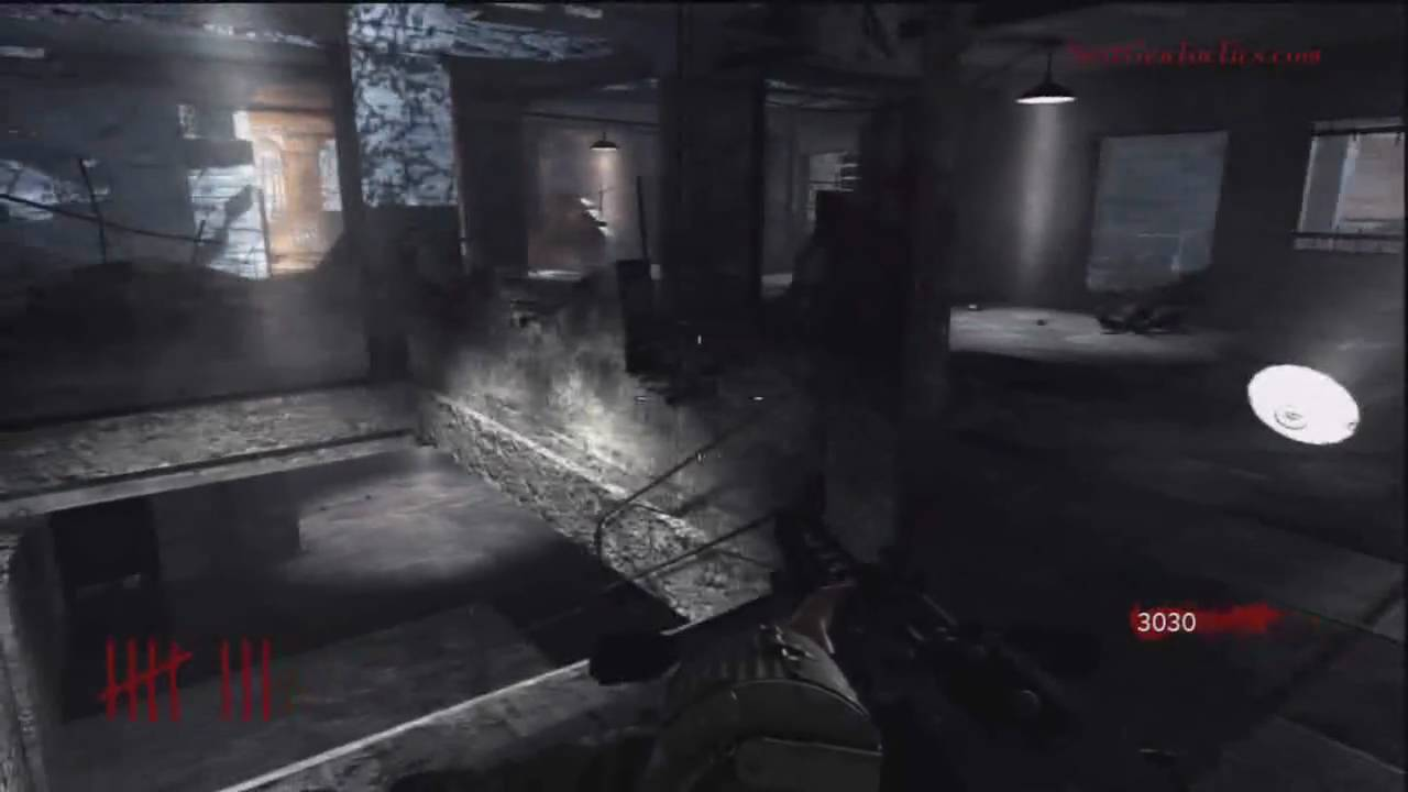 Call of Duty: World at War Nazi Zombies Nacht der Untoten Map Gameplay Video