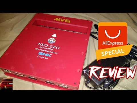 6/10: Consolized #NeoGeo MVS From #AliExpress Review