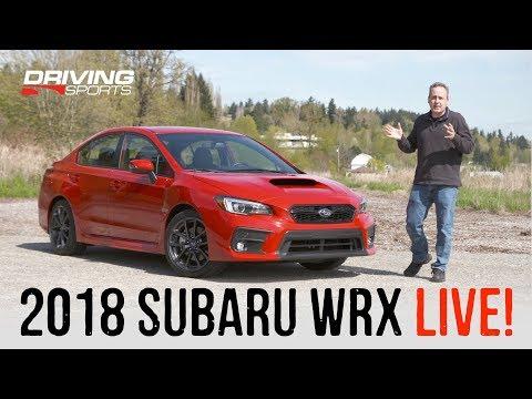 2018 Subaru WRX Limited Review - Live Episode