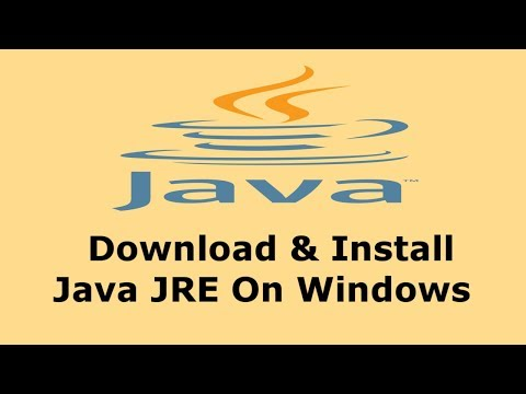 How To Download & Install Java JRE On Windows | Hindi