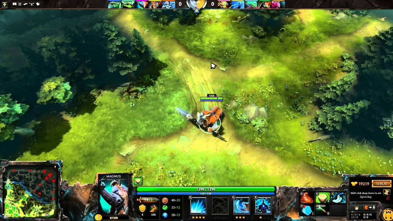 Empower HUD Preview DotA2 YouTube