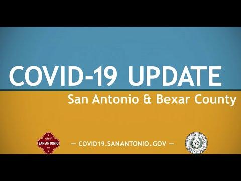 COVID-19 Update San Antonio And Bexar County 9/8/20