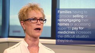Access to cancer medicines - Kate Vines, Head of Patient Care, Rare Cancers Australia