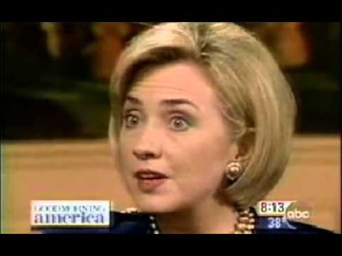 Hillary Clinton on Good Morning America - 1998