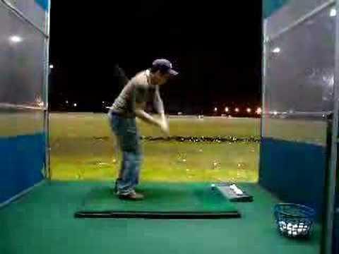 My REAL golf swing