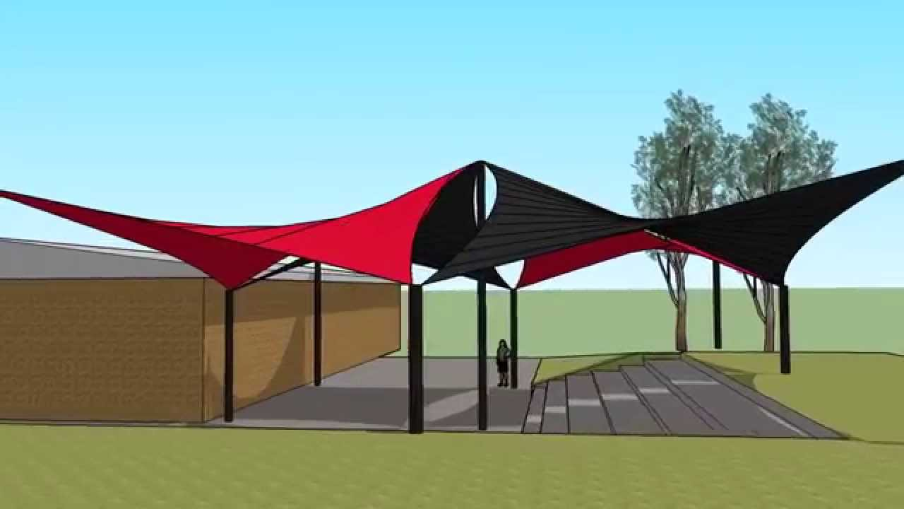 Shade master 4 sails school youtube for Shadesails com