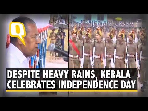 Kerala Celebrates Independence Day Despite IMD's Red Alert on Heavy Rainfall