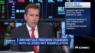 Three JPM metals traders charged with market manipulation, 'spoofing'