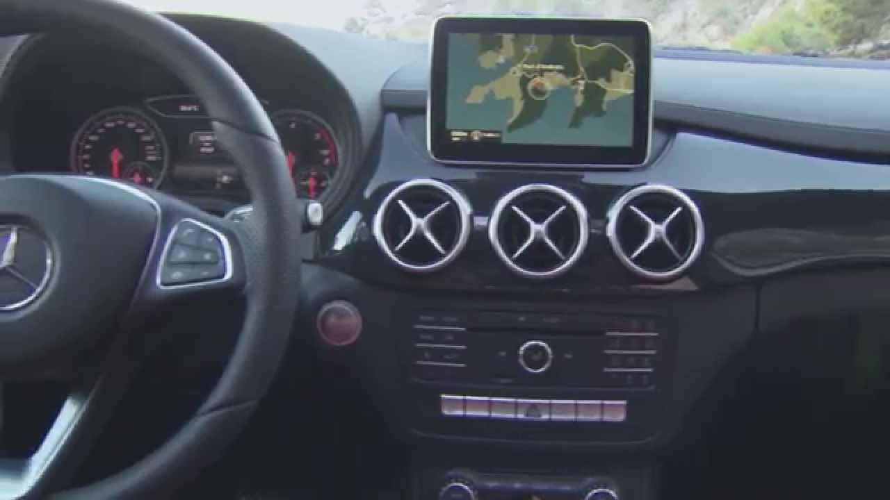 Mercedes benz b 220 cdi 4matic polar silver interior for Cdi interior design