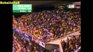 shahid afridi little girl 145m sixbiggest six in the history of cricket at perth waca 2005 720p hd youtube