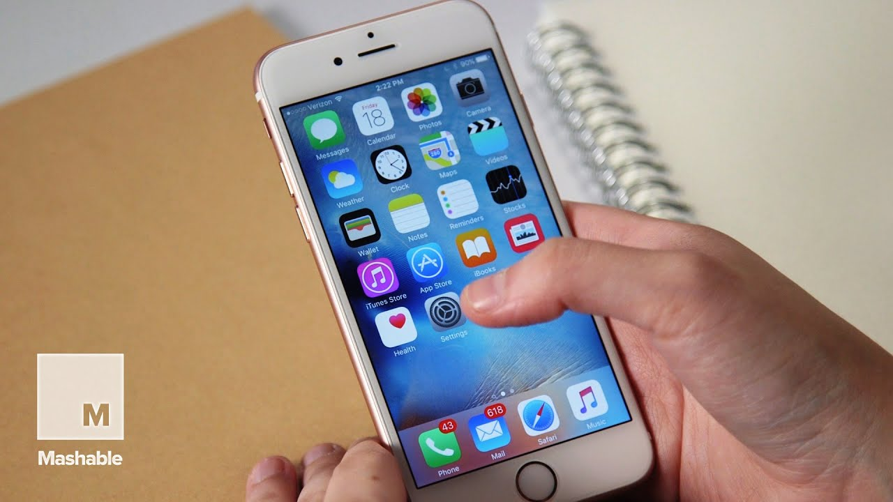 iphone 6s review mashable tech   youtube