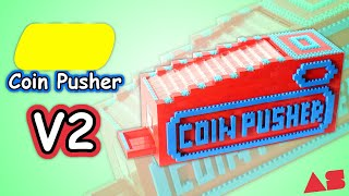 Huge LEGO Coin Pusher