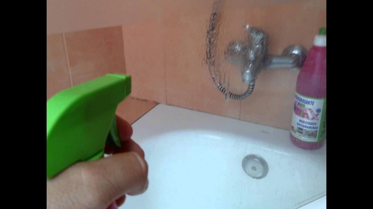 El milagrito como limpiar mamparas de ba o facil simo youtube - Como limpiar bano ...