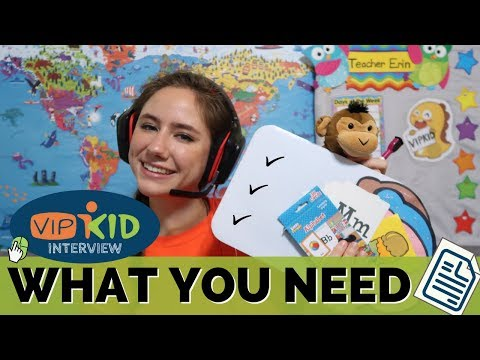 What Do I REALLY Need for the VIPKID Interview & Hiring Process? (VIPKID INTERVIEW TIPS)