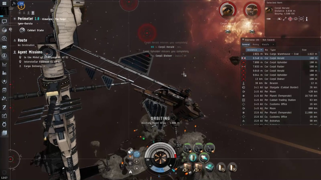 Eve Online Breacher Play Mission Cargo Delivery Level 1