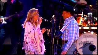 George Strait: When Did You Stop Loving Me Live HD with Sheryl Crow