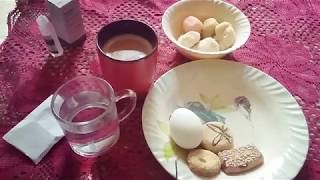 Kitchen Routine Breakfast and Dinner for Kids and Husband