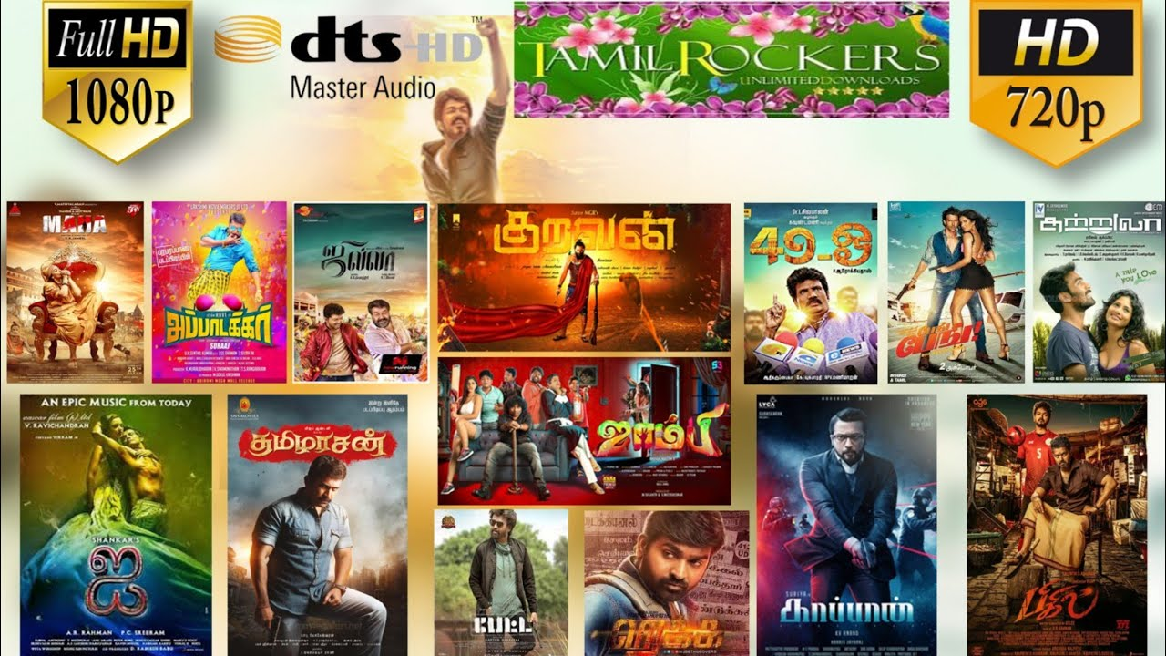 Download How to Download New TAMIL MOVIE'S 720p&1080p TAMILROCKERS Website