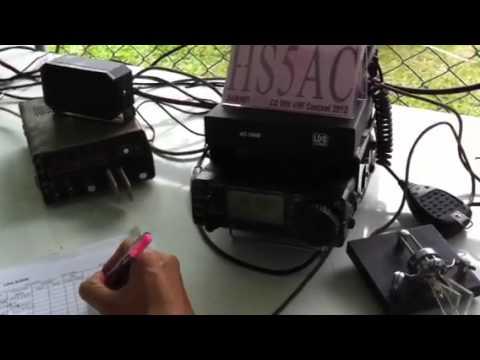 HS5AC CQ WW VHF 2012 on 6m CW