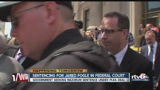 Fogle to be sentenced Thursday for sex crimes