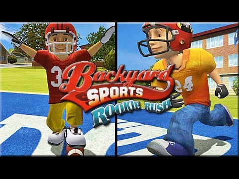 Backyard Football Video Game backyard football: craziest football game ever!! - part 2 - youtube