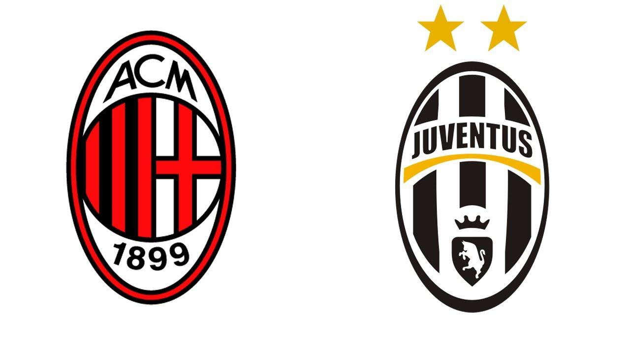 Milan Juventus (1-2) Coppa Italia semifinale : formazioni e pronostico - YouTube