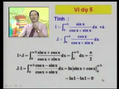 Ôn thi Đại học: Tích phân hàm lượng giác (P3-4).avi