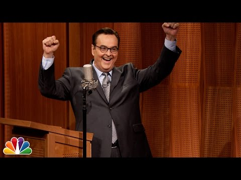 Jimmy Gives a High School Yearbook Birthday Surprise to Steve Higgins