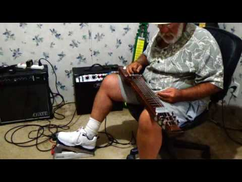 Volume Pedal Demo 1 for lap steel guitar