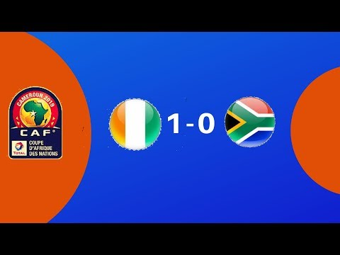AFCON 2019: South Africa vs Ivory Coast - Highlights HD