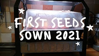 First seeds sown 2021 Using IK…