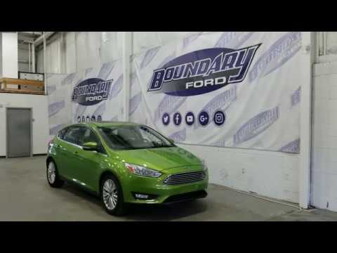 2018 Ford Focus Titanium W Outrageous Green Metallic Paint Overview Boundary Ford