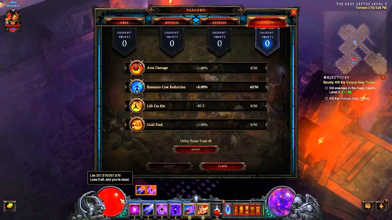 Barbarian Diablo  Build Level