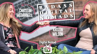Digital Nomad Interview - Christine McDannell of Kndrd.io Co-Living Startup [HD]