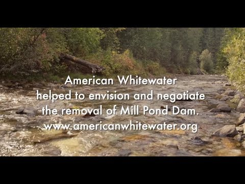 Mill Pond Dam Removal Begins!  ||  Produced by American Whitewater