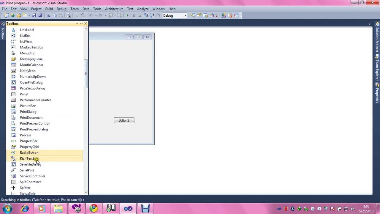 How to make print and print preview program in VB.net 2010 in ...